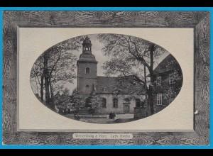 AK Rahmen Prägekarte Vienenburg Harz Luth Kirche (2401