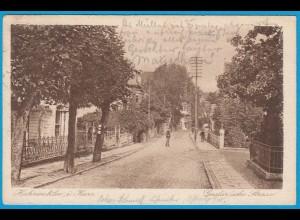AK Hahnenklee i.Harz Goslar-sche Strasse Oberharz (2437