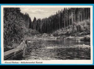 AK Altenau Oberharz Wald-Schwimmbad Okerteich (2448