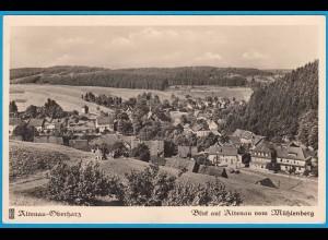 AK Altenau Oberharz Mühlenberg Teilansicht (2479