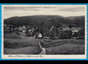 AK Altenau Goslar Oberharz Rose Gesamtansicht (2481