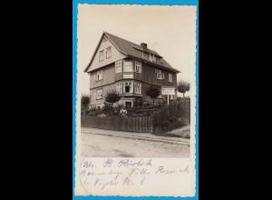 AK Haus Roseneck Braunlage Echte Fotografie (2483