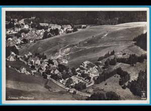 AK Altenau Oberharz Luftbild Echte Fotografie (2485