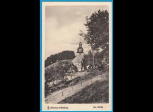 AK Altenau Oberharz Kirche Echte Fotografie (2486