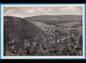 AK Altenau Oberharz Luftbild Echte Fotografie (2493