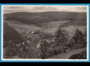 AK Altenau Oberharz Luftbild Echte Fotografie (2496