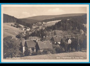 AK Altenau Oberharz Panorama Echte Fotografie (2498