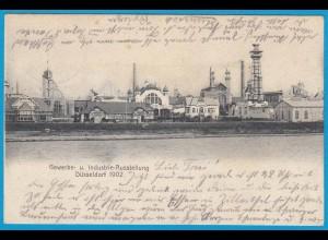 AK Gewerbe Industrie-Ausstellung Düsseldorf 1902 (2540