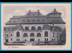 AK M.-Gladbach Kaiser Fiedrich Gedächtnis Halle (2542
