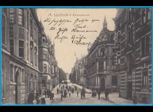 AK Rheydt Mönchen-Gladbach Kaiserstrasse 1912 (2556