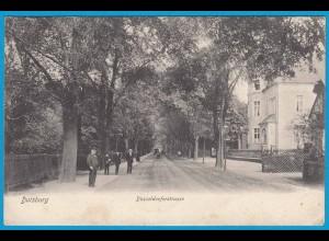 AK Duisburg Düsseldorferstrasse 1906 (2559