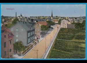 AK Hattingen Ruhr Strassenansicht (2581