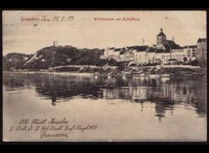 AK Graudenz Pommern Grudziądz Weichsel jetzt Polen ansehen (8469
