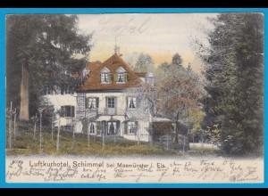 AK Litho Schimmel b.Masmünster Elsass 1904 (1023